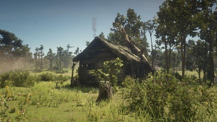 abandoned shake Lagras Swamp. R - cirroccojones | ello