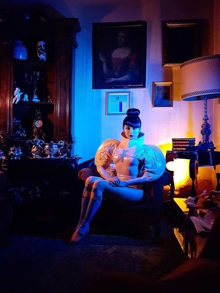 Photographer/Model: Nange Magro - darkbeautymag | ello