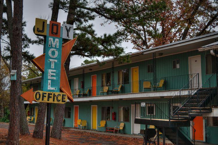 Eureka Springs - Joy Motel 001  - lancevaughn   ello