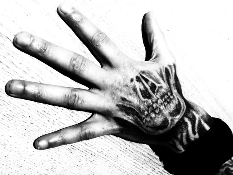 Tattoo muse skull - damnsung | ello