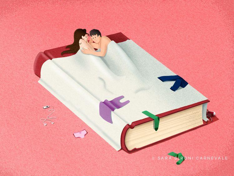 Sex YA literature - Illustratio - saragironicarnevale | ello