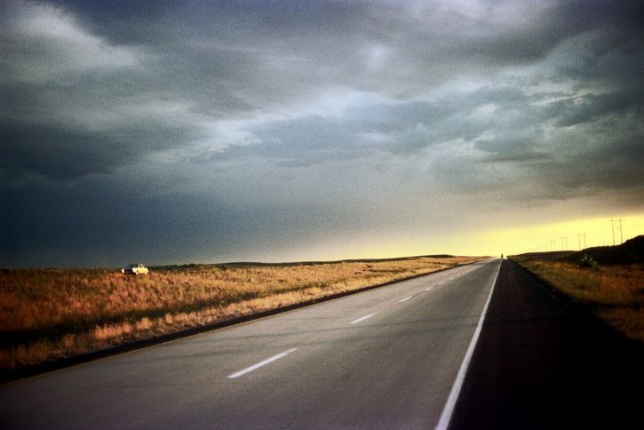 road Interstate 80, Central Neb - nickdewolfphotoarchive | ello