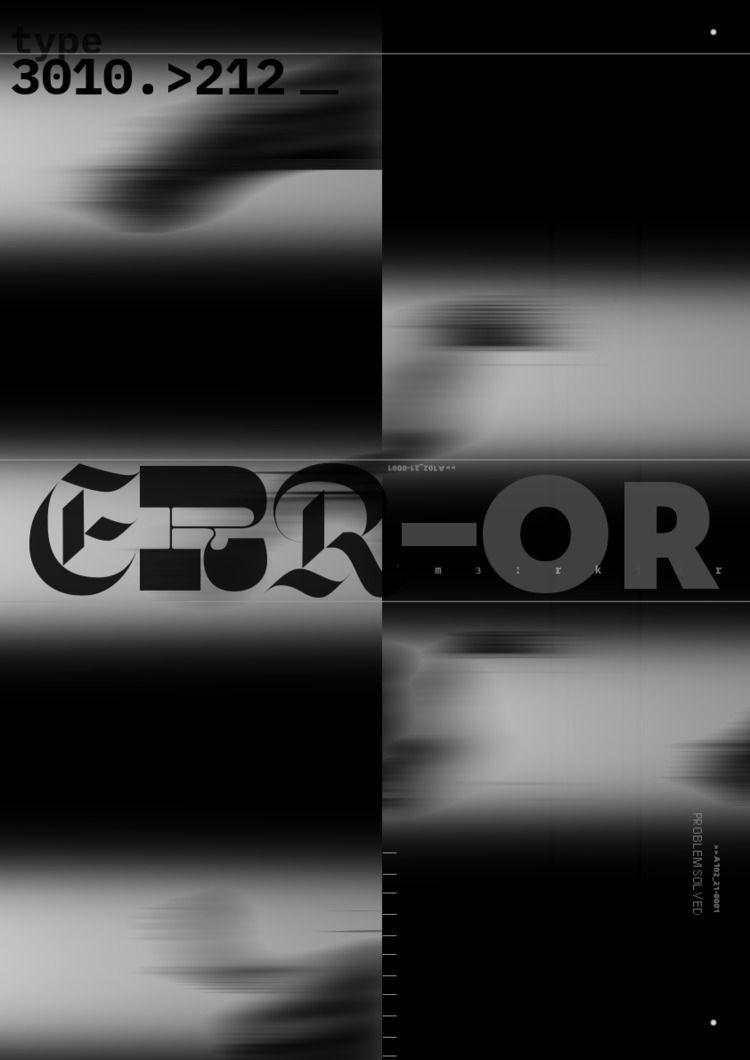 poster, graphicdesign, type, typography - flekich | ello
