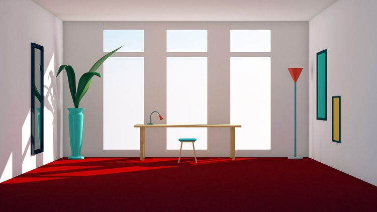 Studio, red carpet - illustration - laurencejmoss | ello