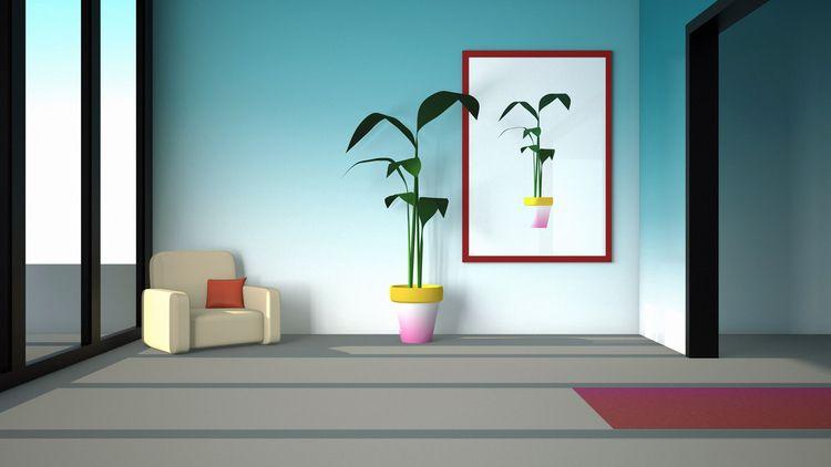 plant picture - illustration, 3d - laurencejmoss | ello