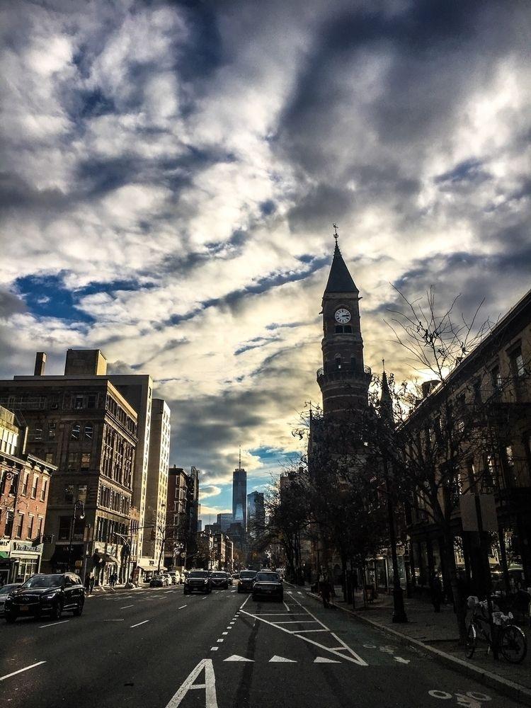 Winter skies city - nyc, newyork - djtakefive | ello