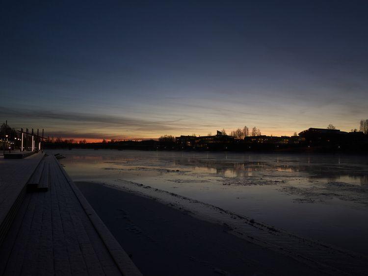 Skellefteå - Sweden, river, frozen - ivop | ello