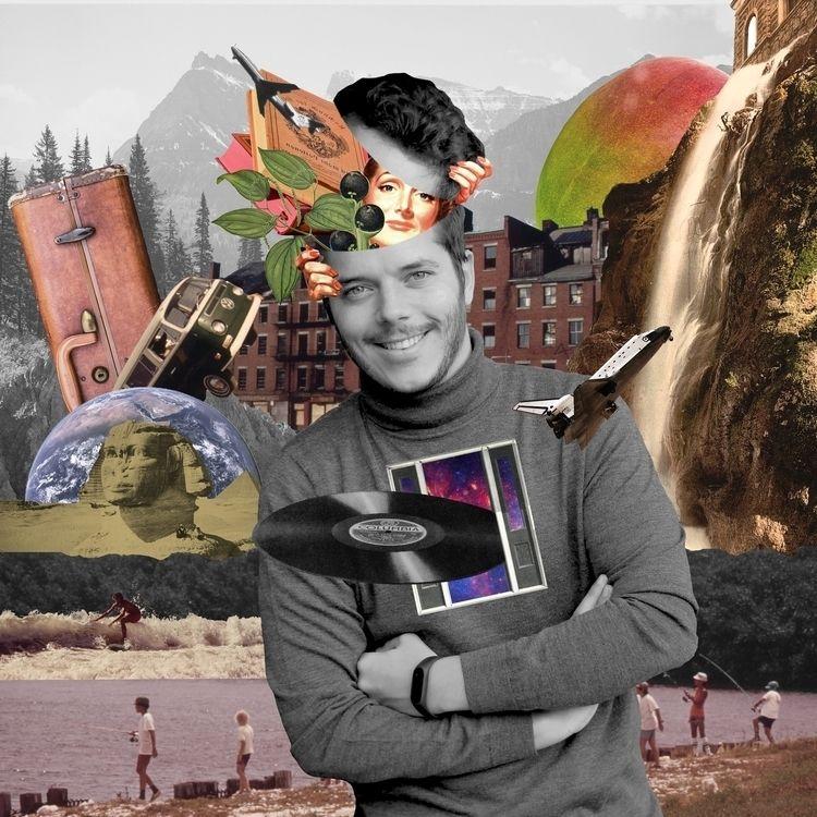 world. Collage portrait - collage - vypunto | ello