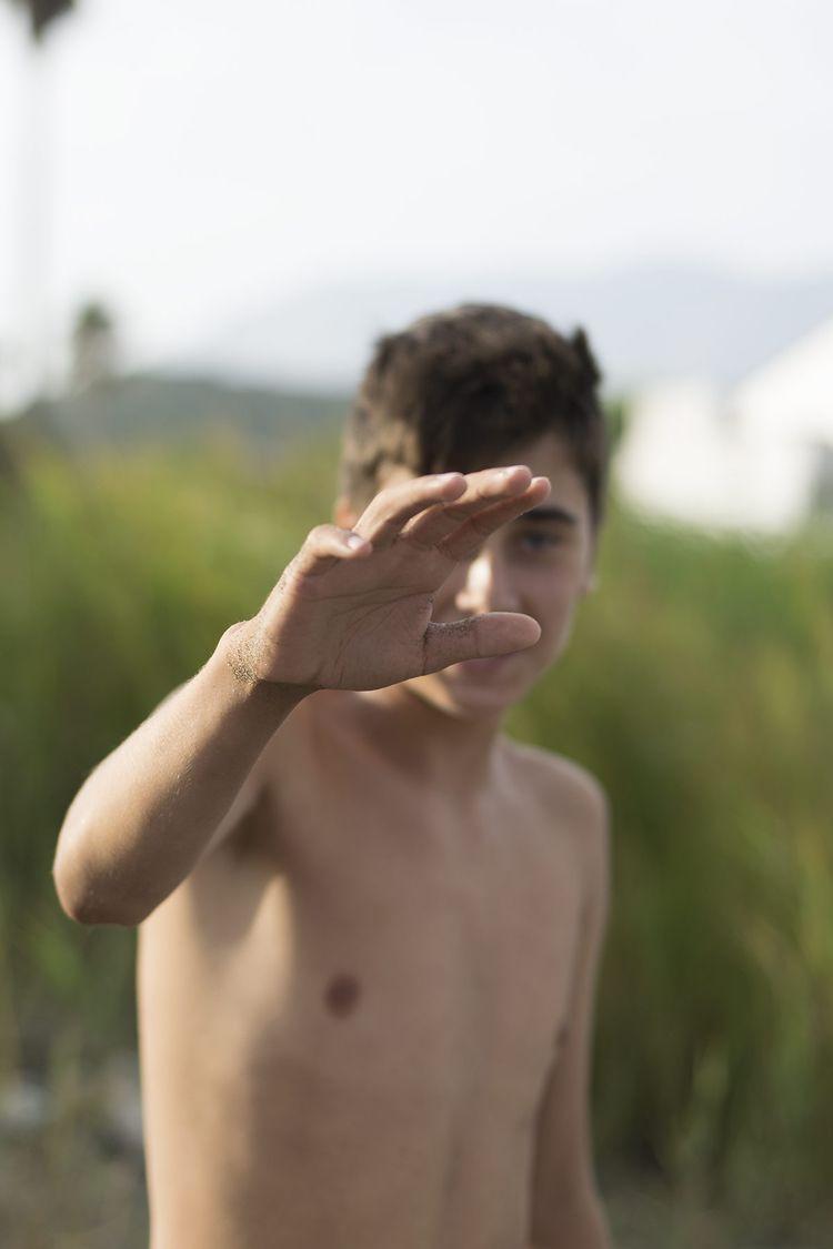 sand - kid, boy, son, blur, nikkor - natxodiego | ello