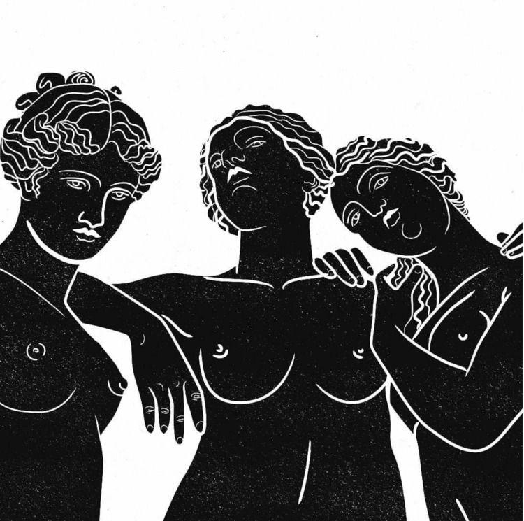 Kharites Greek mythology, Chari - es-morgan | ello