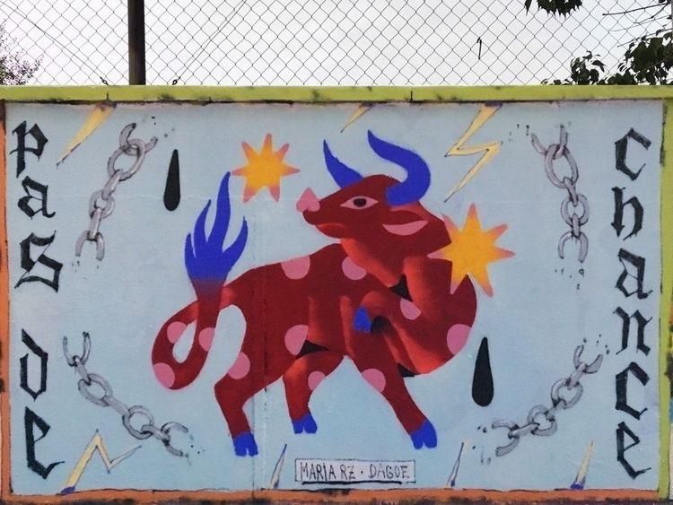 wall Barcelona - illustration, streetart - mariarz | ello