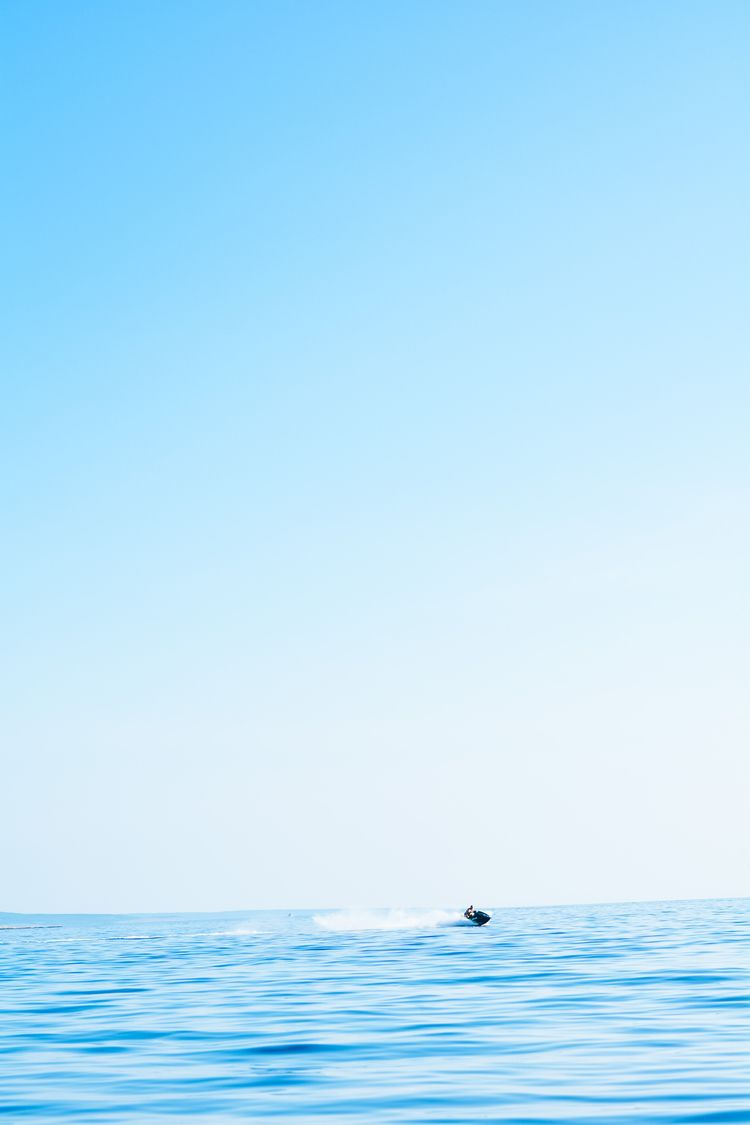 shot straight - jetski, water, croatia. - lasti | ello