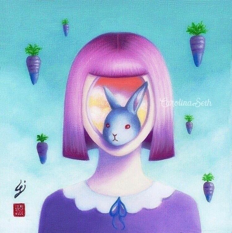 "carrots? :purple_heart:🥕 ""Carot - carolinaseth | ello"