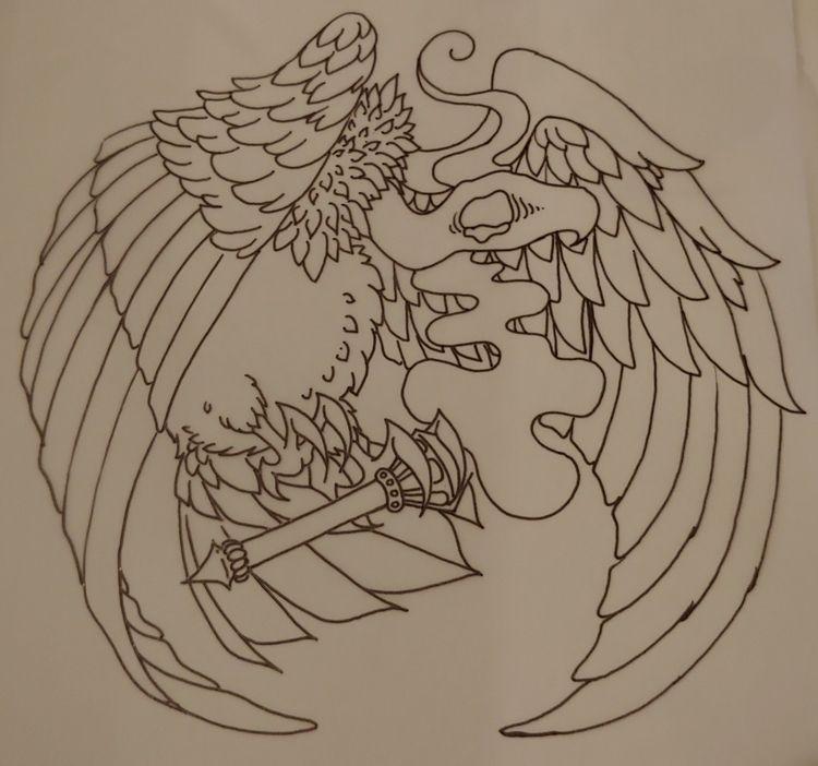 vulture, death, sadness, symbolism - rieru | ello