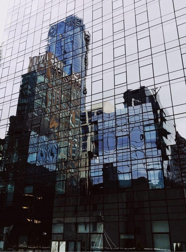 Reflections city - architecture - izavibes   ello