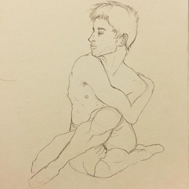 dancer - malemodel, figuredrawing - nicosantamorena | ello