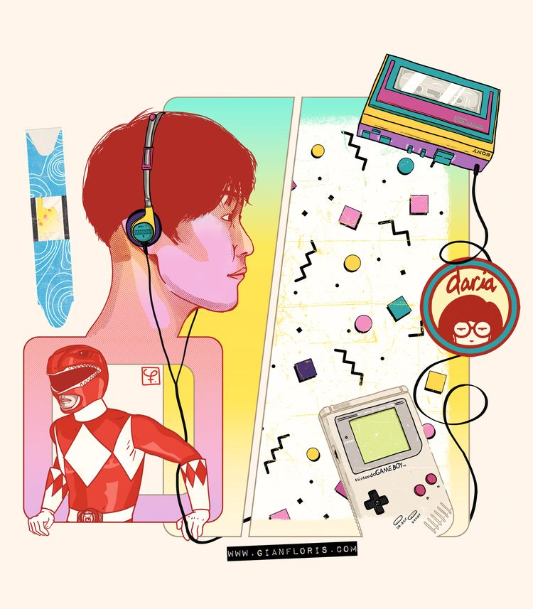 fever - gameboy, walkman, powerranger - hoarse_rama | ello
