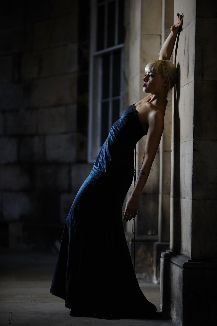 Blue Dress  - classy, elegant, elegance - baxtermarrison | ello