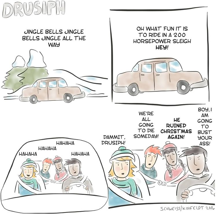 comedy, cartoon, webtoon, webcomic - drusiph | ello