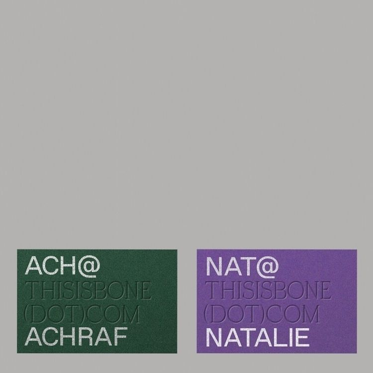 Bone Architects Cards - studiospgd | ello