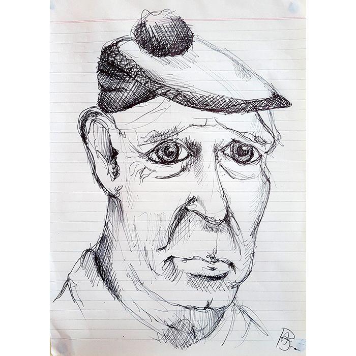 Sketch 027 - Neville quickish p - 999sketches   ello