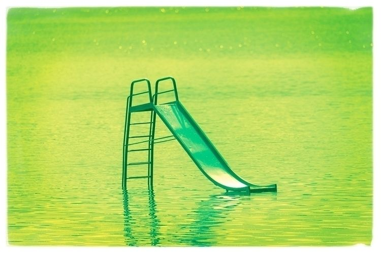 Water Slide Study IV Prints - waterslide - arisalmelaphoto | ello