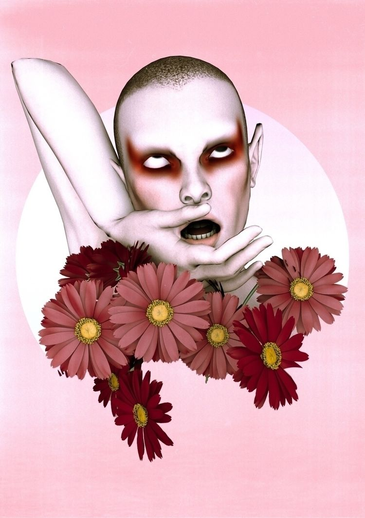 Heads Roll  - Art, 3Dart, Cinema4D - darlingdesign | ello