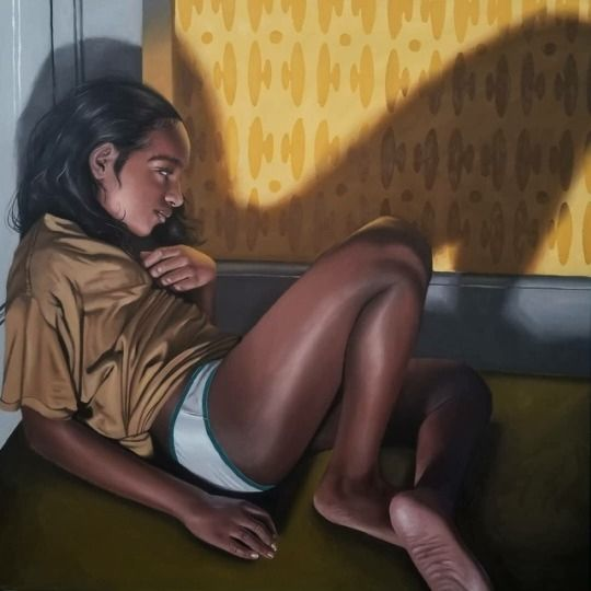 love mood painting mikegwu  - beautifulbizarremagazine - beautifulbizarremagazine | ello