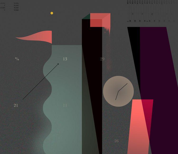 Dark Melting graphic / print  - art - markograf | ello