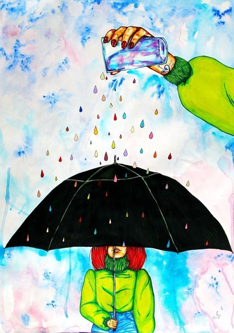 Rain Love Empty Submitted Ello  - 13ladyn | ello