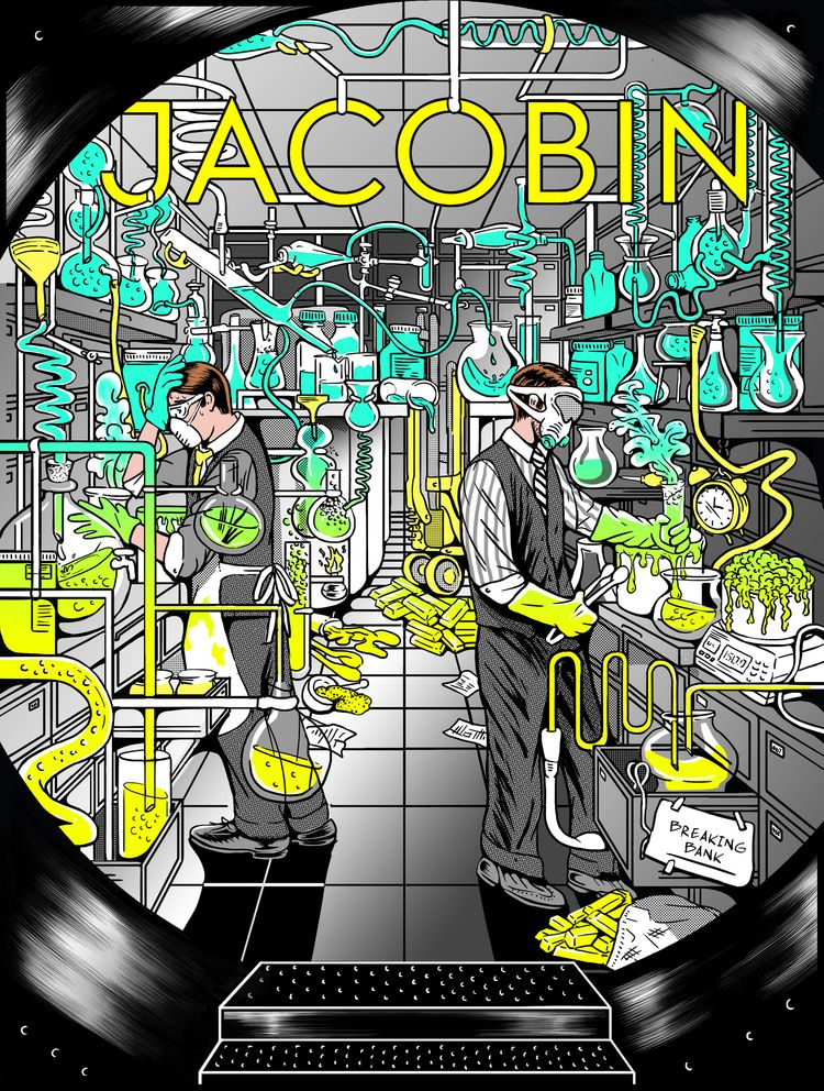 Jacobin cover art glossary gate - catsims | ello