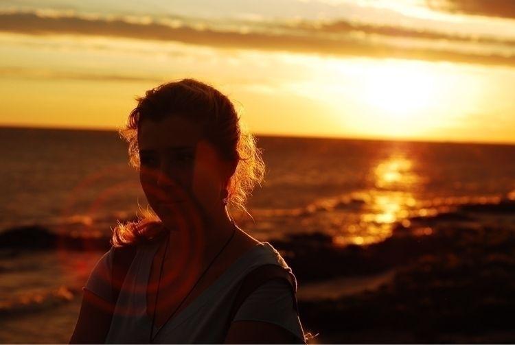 Emma - uruguay, photography, sunset - samuelhensen | ello