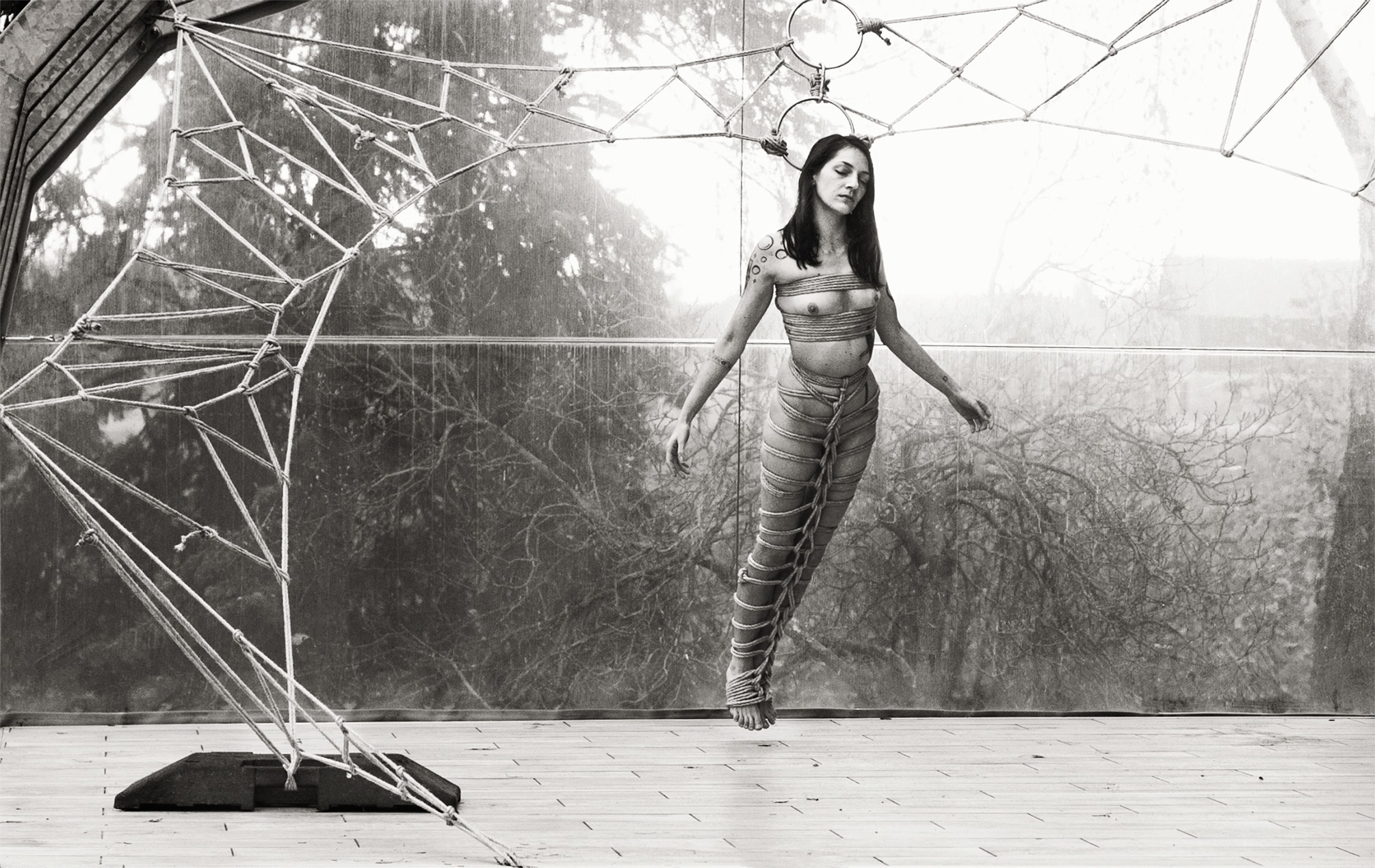 Shibari Angel  - photography, shibari - mvpblack | ello