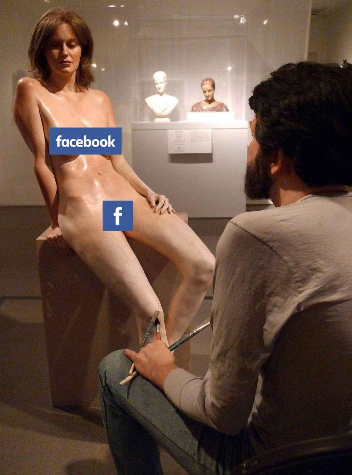 Facebook Censors Art Historian  - bepa   ello