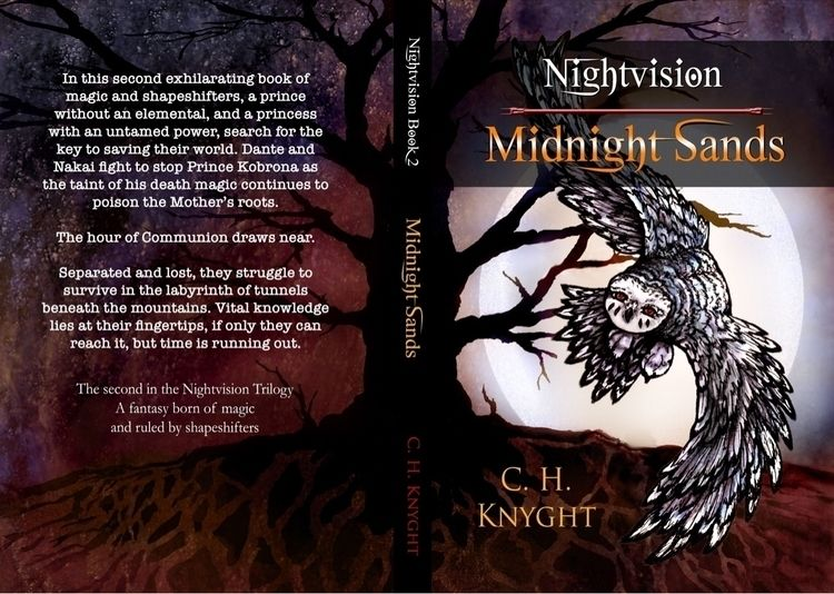 Coming Book2 Nightvision trilog - inkmagineandcreate | ello