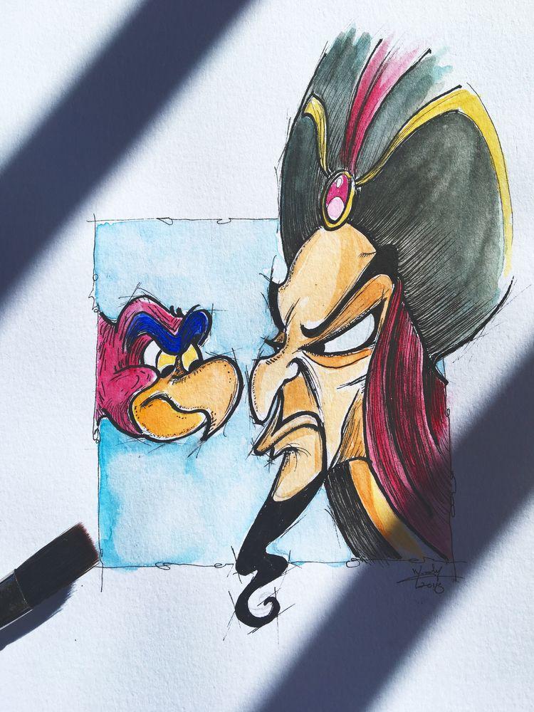 2019 bring 2 - Doodle, Aladdin, Jafar - nephellim | ello