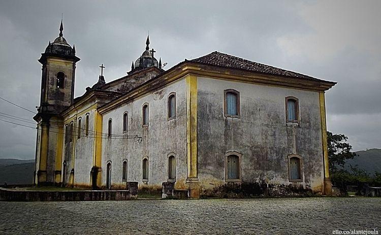 Baroque Church - Ouro Preto/MG  - alantejoula | ello
