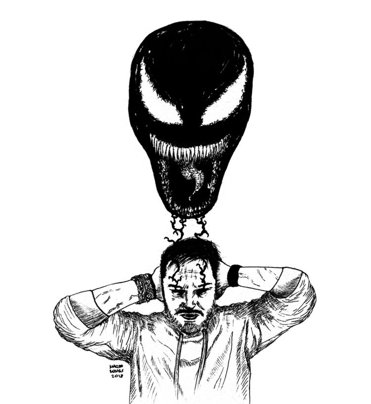 VENOM - art, arte, artists, artsy - mariolungs | ello