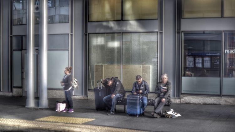 blue line lens - photography, dslr - d_nodave | ello