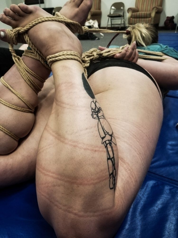 Hogtie happiness:blue_heart - shibari - princessme0248 | ello
