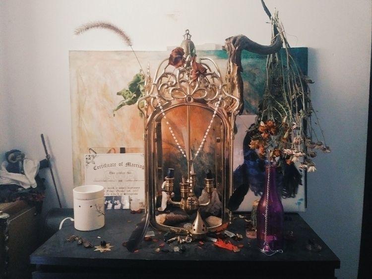 Friend - altar, roomsofmypast, myart - carleyrae22 | ello