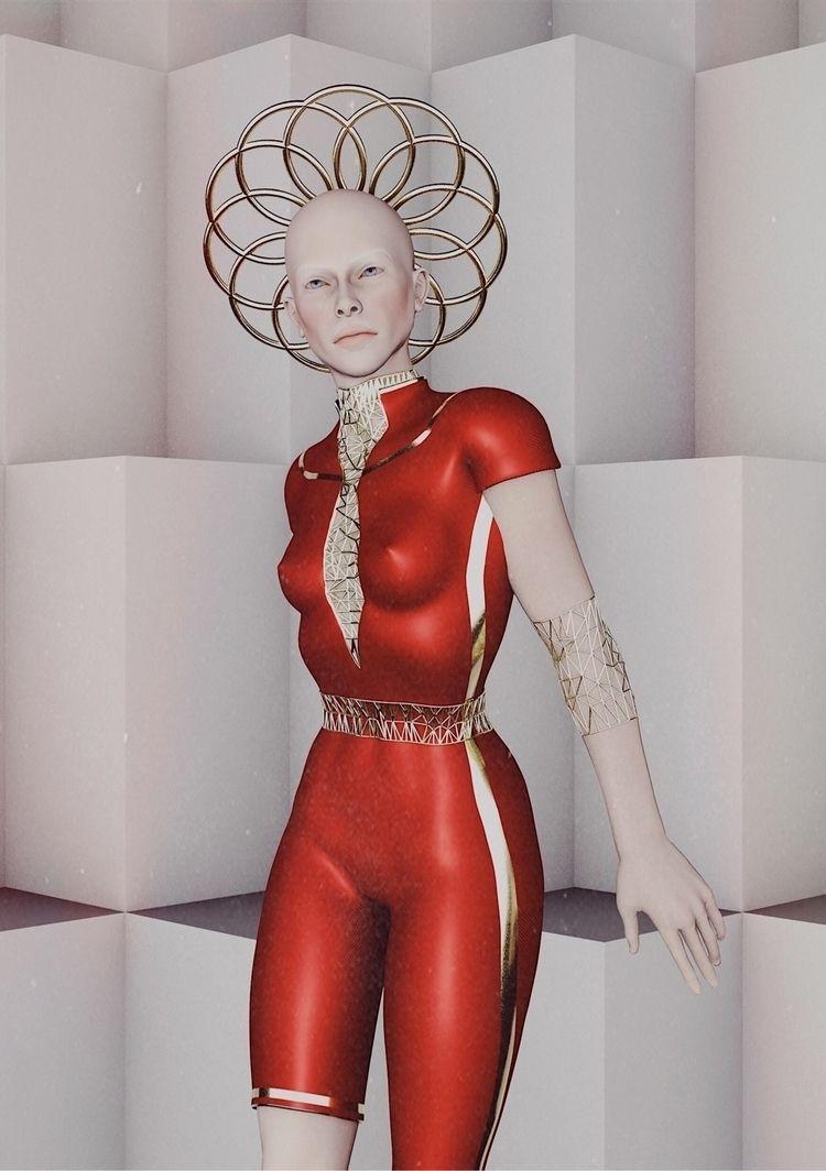 Technology Fashion  - Art, 3Dart - darlingdesign | ello