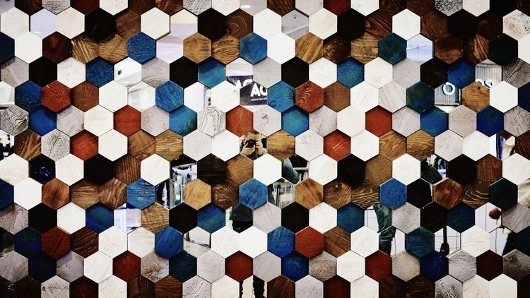 Hexagons. shopping center San F - veetiphotos | ello