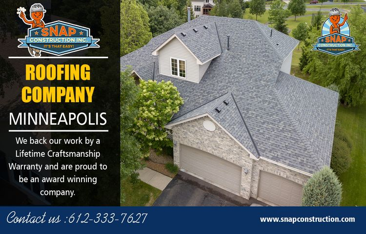 Roofing Company Minneapolis Sel - snapconstruction | ello