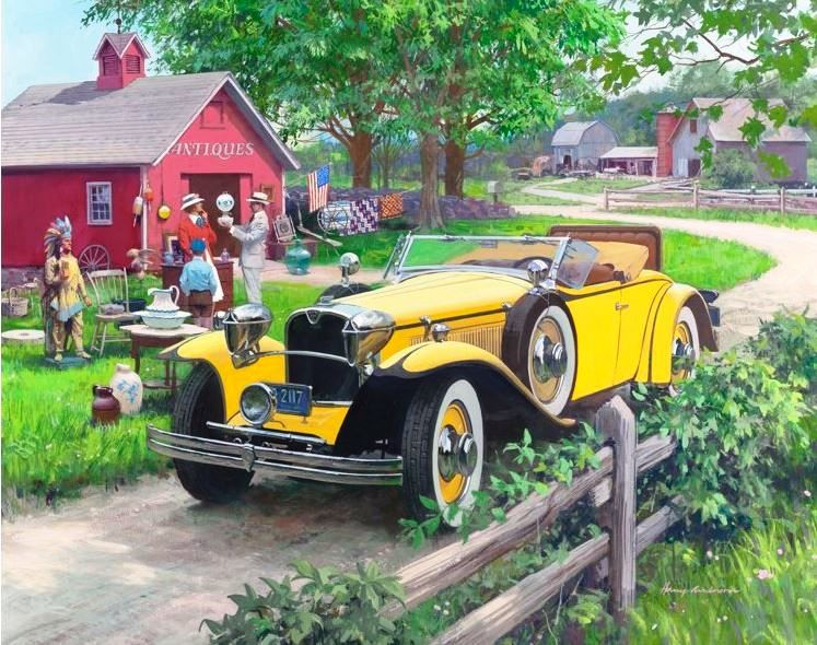 1930 Ruxton Harry Anderson - art - mraffiche | ello