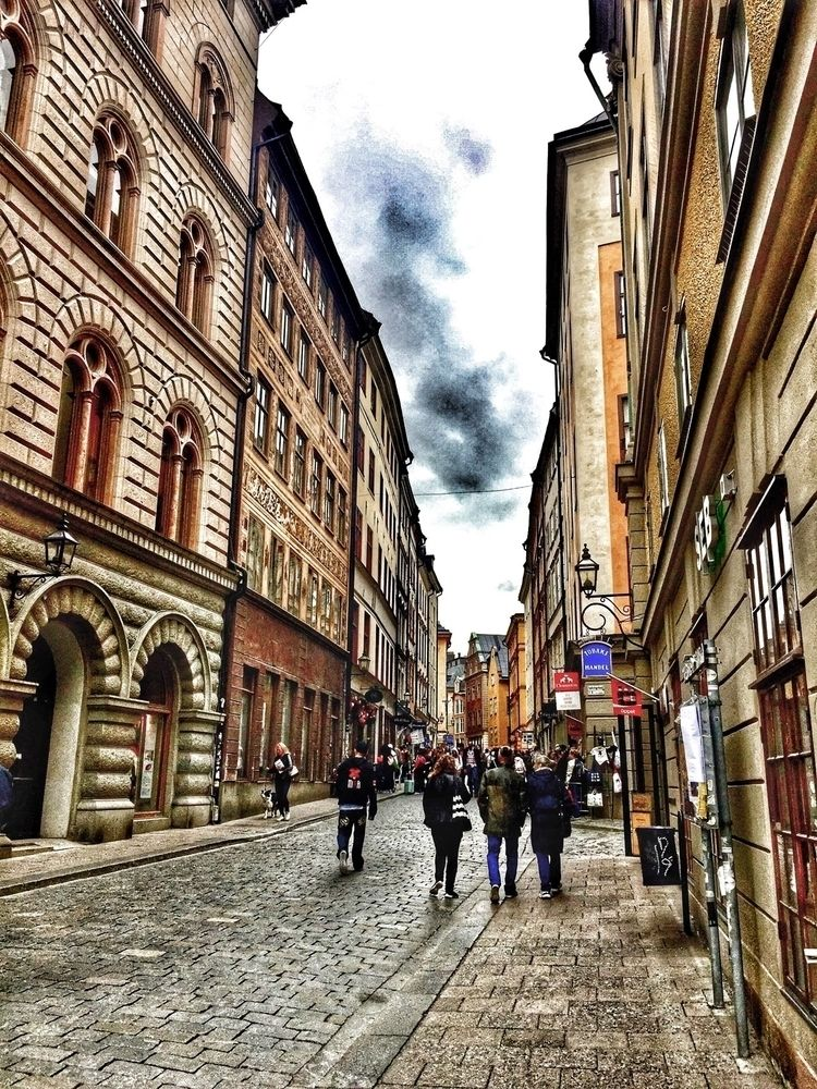 Gamla Stan, Stockholm, Sweden - renspacemadness | ello