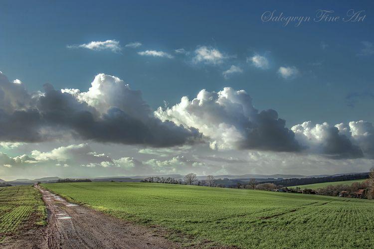 follow, clouds, fotoart, foto - salogwyn | ello