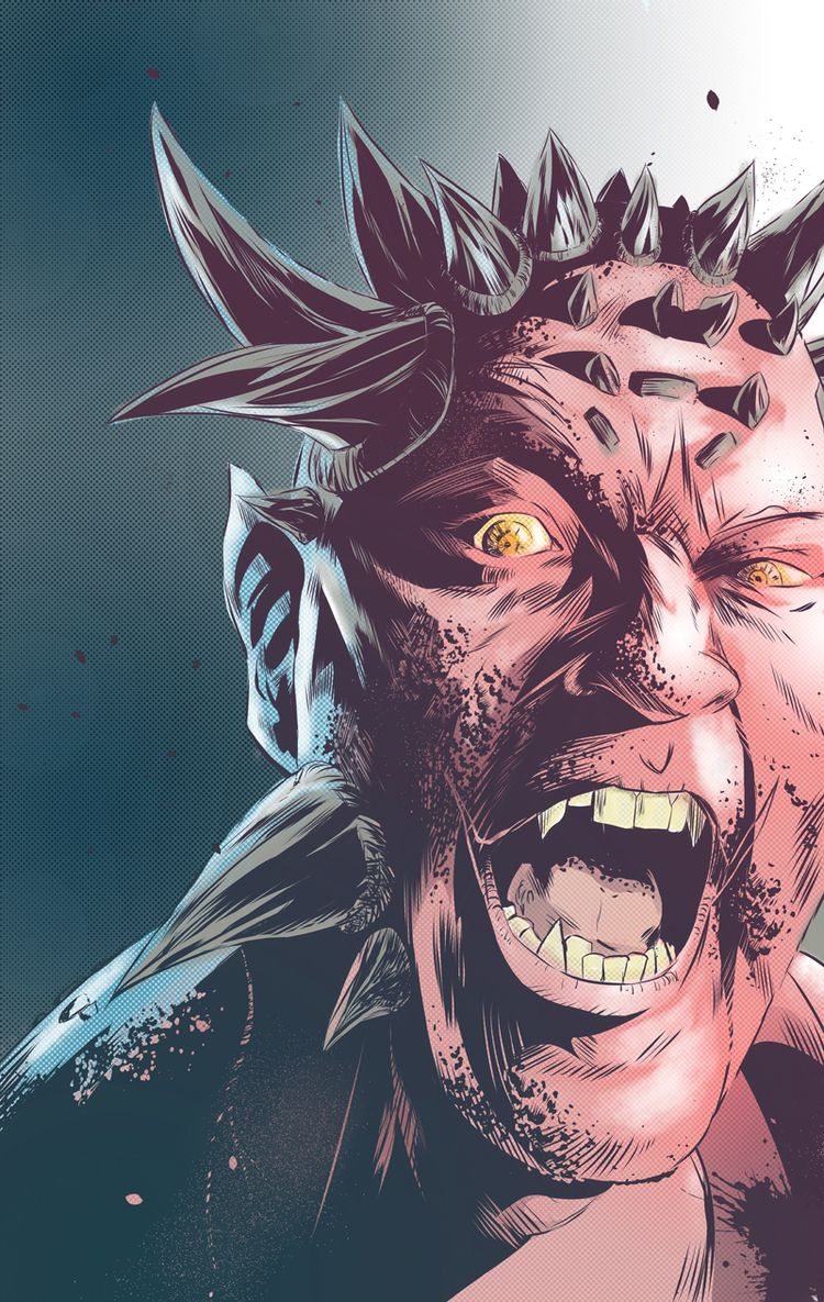monsters real - demon, monster, comic - universek | ello