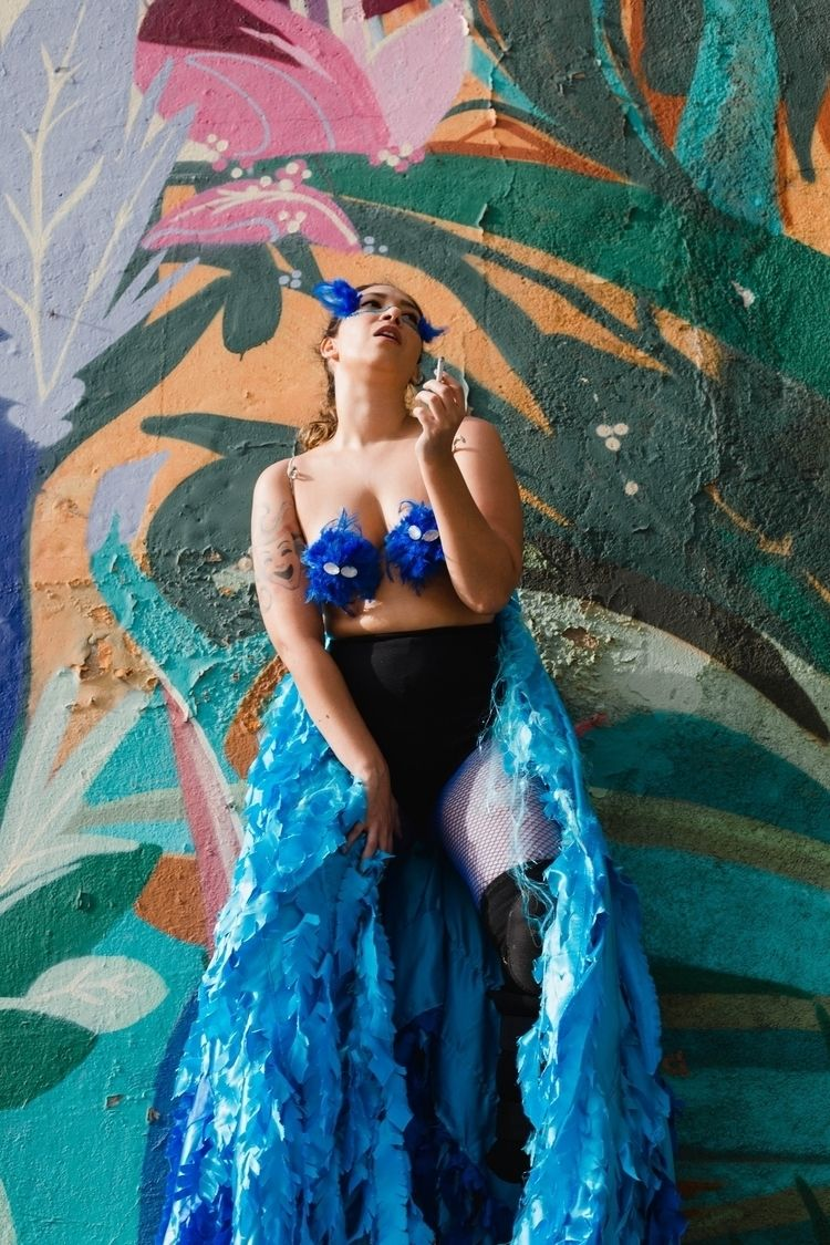 Mônica Lannes para projeto AZUL - lizportraits | ello