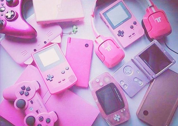Pretty pink - gamers, girls, cute - princesssunrae | ello